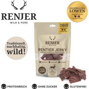 Renjer Trockenfleisch Rentier, 25 g - Bild 1