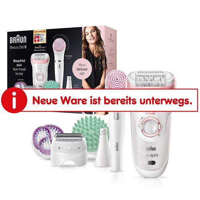 Braun Silk-épil Beauty-Set 9 9-995 Deluxe 9-in-1 Kabellose Wet&Dry Haarentfernung - Bild 1