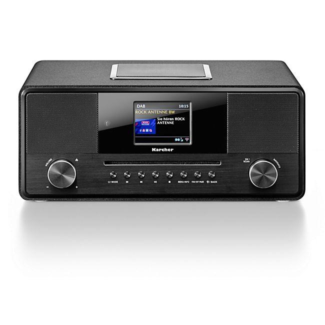 Karcher DAB 9000CDi 2.1-Kanal-Internet-/DAB+/UKW-Radio, CD-Player - Bild 1