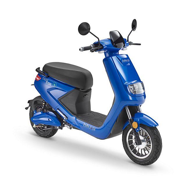 Blues E-Roller XT2000 45 km/h race blue - Bild 1