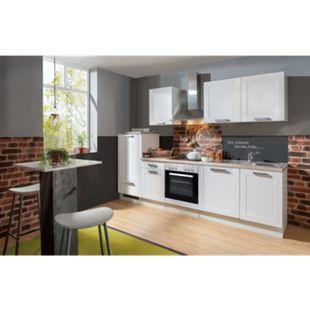 Menke Küchen Küchenzeile Premium White Landhaus 270 cm - Bild 1