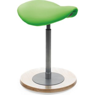MAYER SITZMÖBEL Pendelhocker myERGOSIT mit Sattelsitz, grün - Bild 1