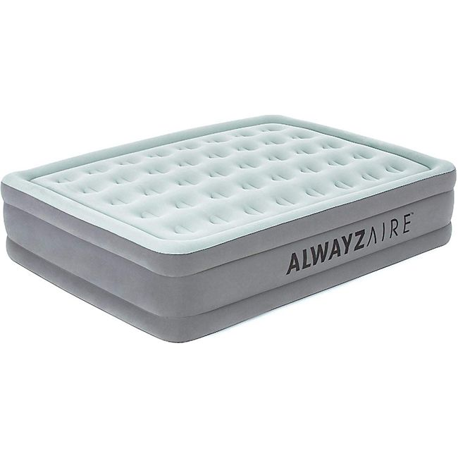 AlwayzAire Basic Luftbett mit integrierter Elektropumpe Double XL/Mid 203 x 152 x 46 cm - Bild 1