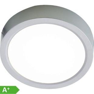 Nino Leuchten LED Deckenleuchte PUCCY, silberfarbig, rund, Durchmesser 23 cm - Bild 1