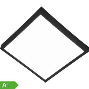 Nino Leuchten LED Deckenleuchte PUCCY, schwarz, viereckig, 23x23 cm - Bild 1