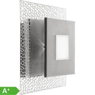 Nino Leuchten LED Deckenleuchte Serena, Nickel, quadratisch, 25x25 cm - Bild 1