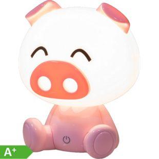 Nino Leuchten LED Tischleuchte PIG, Kunststoff Pink - Bild 1