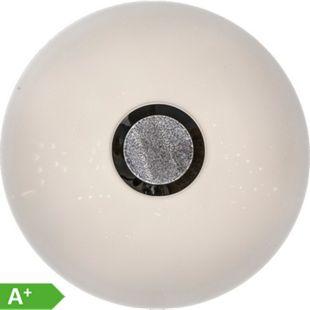 Nino Leuchten LED Deckenleuchte ALBURY, Kunststoff weiss, Diamondeffekt, Durchmesser: 50 cm - Bild 1
