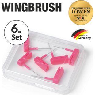 Wingbrush Ersatz-Aufsätze 6er-Set XS pink - Bild 1
