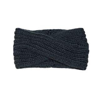 Damen Stirnbänder - gekreuzt, dunkelgrau - Bild 1