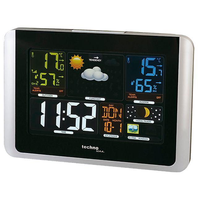 Technoline Wetterstation WS6442 inkl. Außensender TX 960-TH - Bild 1