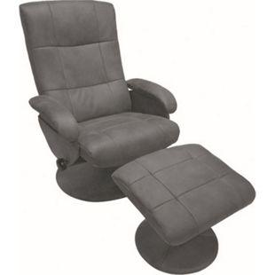 Alpha Relax Massagesessel 7050 mit Heizfunktion in grau - Bild 1