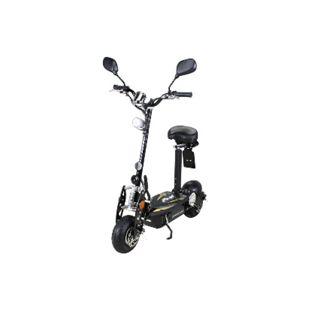 eFlux Street 20 500 Watt E-Scooter Elektroroller mit Straßenzulassung schwarz - Bild 1