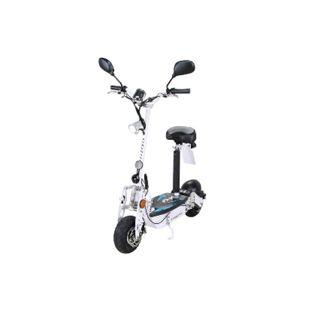 eFlux Street 20 500 Watt E-Scooter Elektroroller mit Straßenzulassung weiß - Bild 1
