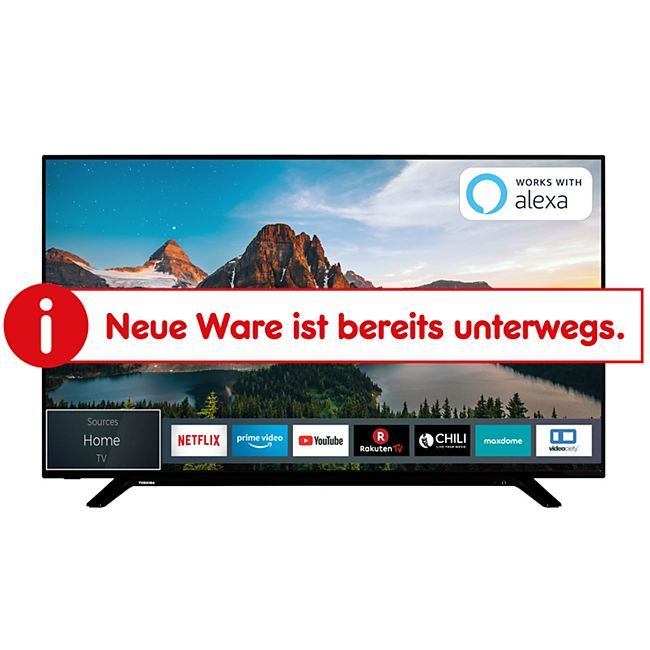 Toshiba 50U2963DG 126cm (50 Zoll) UHD Smart LED-TV - Bild 1