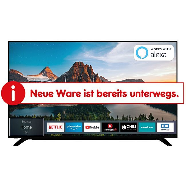Toshiba 65U2963DG 164cm (65 Zoll) UHD Smart LED-TV - Bild 1