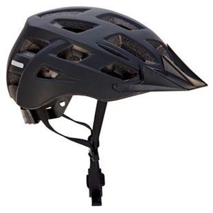 Fahrradhelm mit integriertem LED und fidlock Verschluss schwarz 58-61 cm - Bild 1