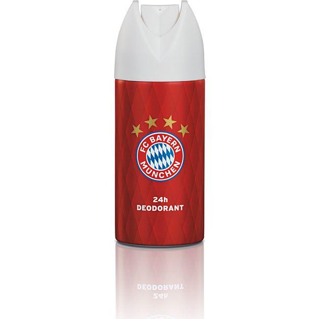 FCB Deodorant 150 ml rot mit Logo - Bild 1