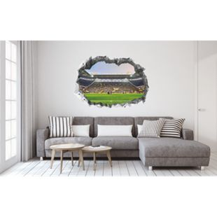 BVB Wandtattoo 3D nachleuchtend Signal Iduna Park mehrfarbig - Bild 1