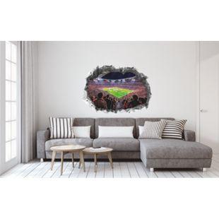 FCB Wandtattoo 3D nachleuchtend Allianz Arena mehrfarbig - Bild 1