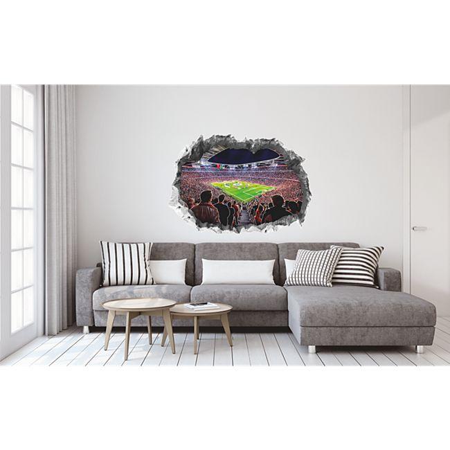 Fcb Wandtattoo 3d Nachleuchtend Allianz Arena Mehrfarbig Online Kaufen Bei Netto