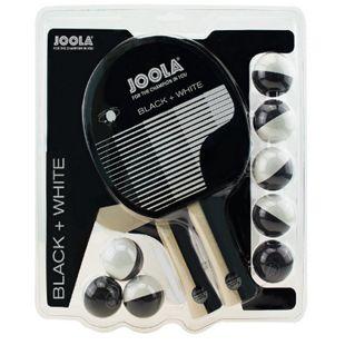 JOOLA Tischtennisschläger-Set BLACK+WHITE - Bild 1