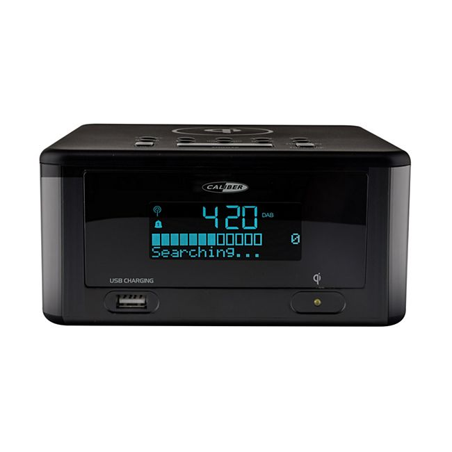 Caliber DAB+FM Radiowecker, Bluetooth, USB Akku-Ladefunktion - Bild 1