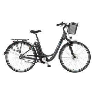 "Telefunken Alu City E-Bike 28"" Multitalent RC830 3-Gang Nabenschaltung anthrazit - Bild 1"