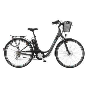 "Telefunken Multitalent RC820 28"" Alu City E-Bike 7-Gang Kettenschaltung anthrazit - Bild 1"