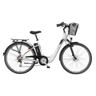 """Telefunken Multitalent RC820 28"""" Alu City E-Bike 7-Gang Kettenschaltung reinweiß - Bild 1"""