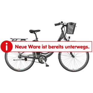 "Telefunken Multitalent RC865 28"" Alu City E-Bike 3-Gang Nabenschaltung anthrazit - Bild 1"