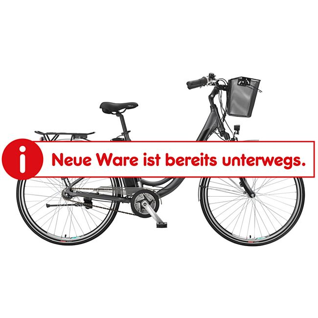 "Telefunken Multitalent RC865 28"" Alu City E-Bike 3-Gang Nabenschaltung anthrazit - Bild 1"