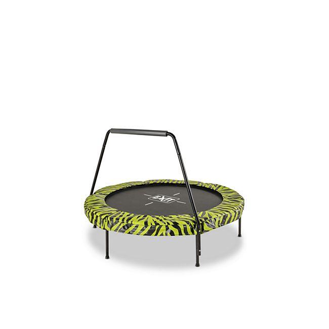 EXIT Tiggy Junior Trampoline ø140cm Lime + Griffstange - Bild 1