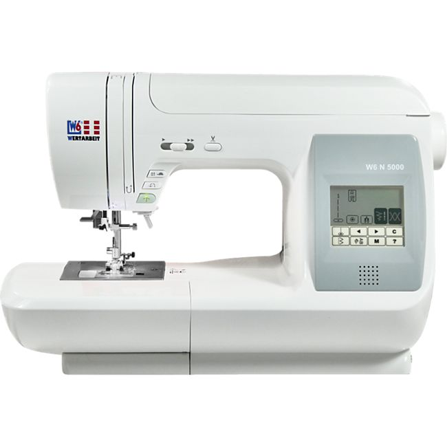 W6 N 5000 Computergesteuerte Nähmaschine mit 323 Programmen - Bild 1