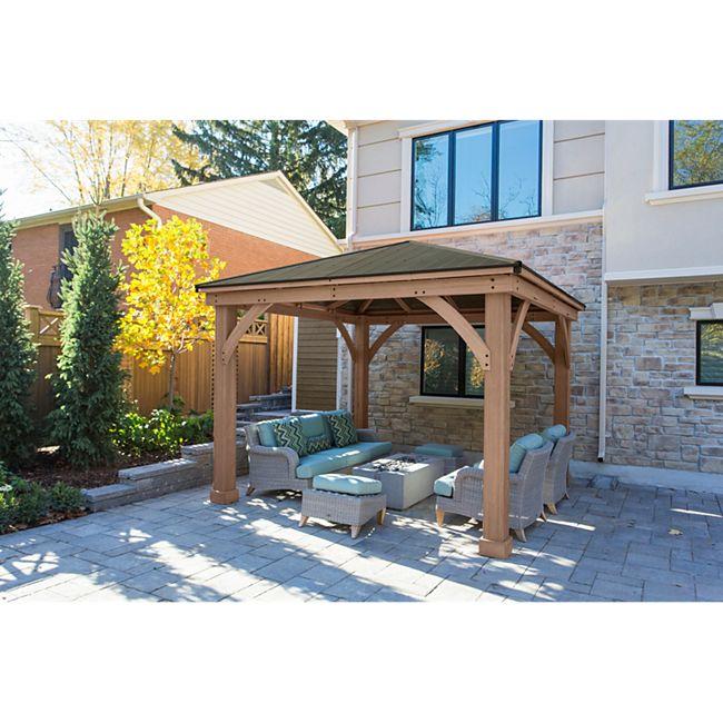 Westmann Devon 12x12 Holzpavillon - Bild 1
