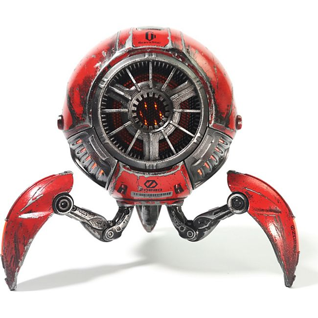 ZOEAO GravaStar H Bluetooth Lautsprecher (Limited Edition), war-damaged red - Bild 1