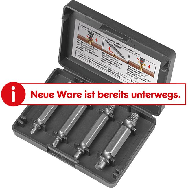 EASYmaxx Schraubenentferner-Set 4-tlg. - Bild 1
