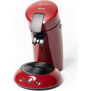 Philips Senseo HD6553/80 Kaffeepadmaschine, rot - Bild 1