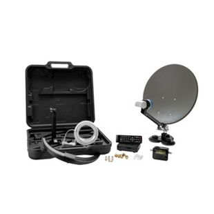 XORO MCA 38 HD Camping Satellitenantenne - Set inkl. HDTV Single LNB - Bild 1