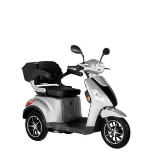 "Didi Thurau Edition E-Mobil 3-Rad ""Bologna"" silber bis 25km/h - Bild 1"