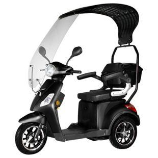 """Didi Thurau Edition E-Mobil 3-Rad """"Bologna"""" schwarz bis 25km/h mit Wind- und Wetterschutz - Bild 1"""