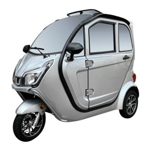 """Didi Thurau Edition E-Kabinenfahrzeug 3-Rad """"eLizzy Premium"""" 25 silber inkl. Überführung und Einweisung - Bild 1"""