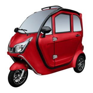 """Didi Thurau Edition E-Kabinenfahrzeug 3-Rad """"eLizzy Premium"""" 25 rot inkl. Überführung und Einweisung - Bild 1"""