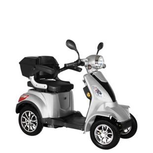 "Didi Thurau Edition E-Mobil 4-Rad ""Palermo"" 25 km/h silber - Bild 1"