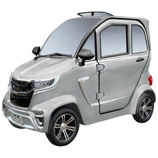 """Didi Thurau Edition E-Kabinenfahrzeug 4-Rad """"eLazzy Premium"""" 45 silber inkl. Überführung und Einweisung - Bild 1"""
