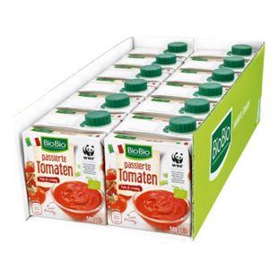 BioBio Passierte Tomaten 500 g, 12er Pack - Bild 1