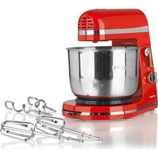 GOURMETmaxx Küchenmaschine 250W rot 3L Rührschüssel - Bild 1
