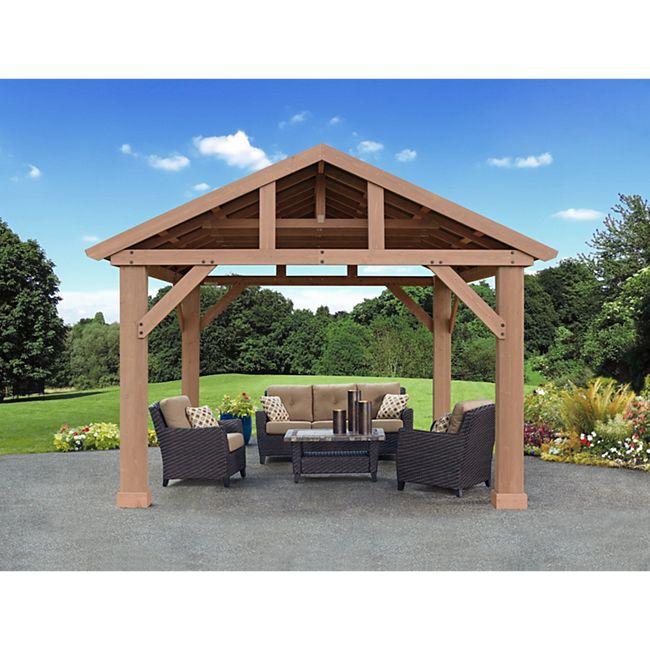 Westmann Holz Pavillon Yukon 14x12 - Bild 1