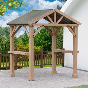 Westmann BBQ Holz Pavillon Laval 6x7 - Bild 1