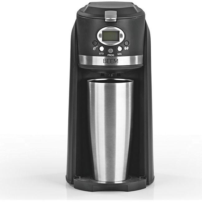 BEEM Single-Kaffeemaschine Thermo2Go 800W, schwarz - Bild 1